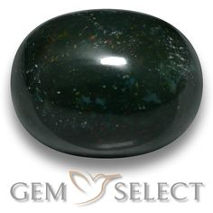 GemSelect features this natural untreated Bloodstone from Madagascar. This Green Bloodstone weighs 14.1ct and measures 15.7 x 12.5mm in size. More Oval Cabochon Bloodstone is available on gemselect.com #birthstones #healing #jewelrystone #loosegemstones #buygems #gemstonelover #naturalgemstone #coloredgemstones #gemstones #gem #gems #gemselect #sale #shopping #gemshopping #naturalbloodstone #bloodstone #greenbloodstone #ovalgem #ovalgems #greengem #green Green Gemstones, Loose Gemstones, Natural Gemstones, Buy Gems, Gem Shop, Madagascar, Gemstone Colors, Shades Of Green, Stone Jewelry