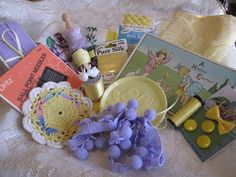 Yellow with Hints of Lavender Easter by TerrisThreadArt on Etsy, $22.99