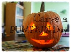https://flic.kr/p/AwWhMi | 2015 - 365 Challenge | Day 304 of 365 - is Carve a Pumpkin Day, always celebrated on October 31st. If you don't carve a pumpkin by today, when will you get to it? This is your last chance to carve a pumpkin because Halloween is tonight. Pull out your caring patterns and get down to work. If you can't find the patterns you have leftover from last year, there's no time to go to the store. They're probably sold out, anyway. Just carve a pumpkin freehand. After it's…