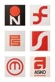 Scandinavian logos 1960s & 70s