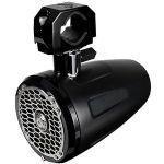 "Rockford Fosgate 6.5"" Wakeboard Tower Speaker - 75W RMS/150W Max - (Pair) Stainless/Black"