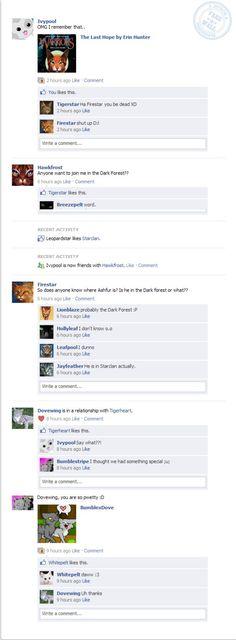 warrior cats facebook - Google Search
