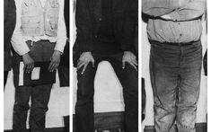 Zum Abschluss des 24-Stunden-Happening, Wuppertal, 1965 / © Foto: Ute Klophaus, Nachlass Ute Klophaus Sammlung Archivo Happening Vostell. Museo Vostell Malpartida, Extremadura España Joseph, Shit Happens, Pants, Fashion, Filing Cabinets, Trouser Pants, Moda, Fashion Styles, Women's Pants