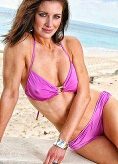 Kirsty Gallacher, Female News Anchors, Tv Presenters, Celebs, Celebrities, Hot Bikini, String Bikinis, Sexy, Fitness