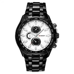 37fb94643 The CURREN Patriot watch is a tactical and durable military timepiece. As  one of the