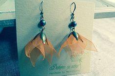 Martinuska / Oranžové sukienky Handmade Earings, Drop Earrings, Jewelry, Jewlery, Jewerly, Schmuck, Drop Earring, Jewels, Jewelery