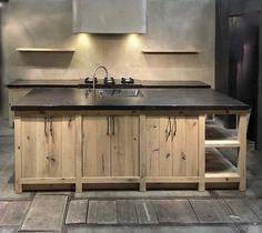 ''Craft'' kitchen island by Dirk Cousaert Design