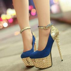 stripper shoes. but the classy kind of stripper, ya know?