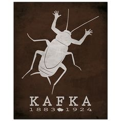 Man transforming into an insect, lowly and forgotten. Franz Kafka, through the Metamorphosis, studies what man can become under the wrong conditions. Franz Kafka was born in what is now the Czech Repu