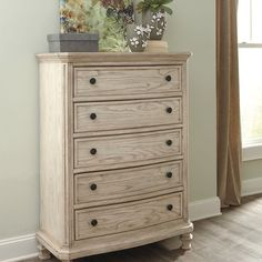 That Furniture Outlet - Minnesota's #1 Furniture Outlet - Ashley Demario's Parchment White Chest  #thatfurniture #twitter