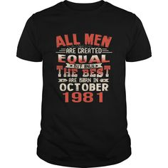 The Best Are Born In October 1981 36th Birthday Gifts Tee #gift #ideas #Popular #Everything #Videos #Shop #Animals #pets #Architecture #Art #Cars #motorcycles #Celebrities #DIY #crafts #Design #Education #Entertainment #Food #drink #Gardening #Geek #Hair #beauty #Health #fitness #History #Holidays #events #Home decor #Humor #Illustrations #posters #Kids #parenting #Men #Outdoors #Photography #Products #Quotes #Science #nature #Sports #Tattoos #Technology #Travel #Weddings #Women
