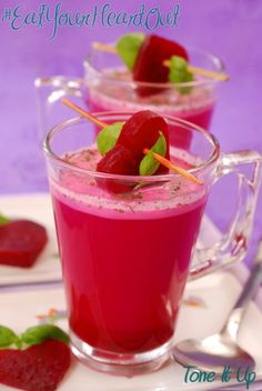 We LOVE Beets! Try this delicious juice recipe and Pump up the BEET!  www.toneitup.com