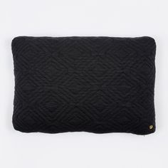 Quilt Cushion - Dark Grey - 60 x 40