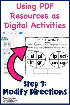 Easily change TPT resources into digital activities for digital learning and distance learning for elementary students in your classroom. Teachers can quickly customize activities for device based learning! #digitalactivity #digitalactivities #distancelearning #elementaryteacher #elementary #classroom #comprehension #conversationsinliteracy #kindergarten #firstgrade #secondgrade #thirdgrade #fourthgrade #fifthgrade kindergarten, 1st grade, 2nd grade, 3rd grade, 4th grade, 5th grade Common Core Curriculum, Creative Curriculum, Reading Centers, Math Centers, Online Reading Programs, Math Fractions, Multiplication, Maths, Framed Words