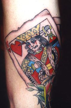King card heart tattoo king of hearts tattoo King Of Hearts Tattoo, Heart Tattoo Images, King Queen Tattoo, King Card, Las Vegas, Image King, Love Tattoos, Tatoos, Website