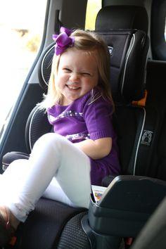 Mom Life Monday's: Car Seat Transition | toddler transitions | toddlers and car seat | Chicco Keyfit booster | car seat tips for toddlers | kids and booster seats | how to transition to a booster || The Flexman Flat