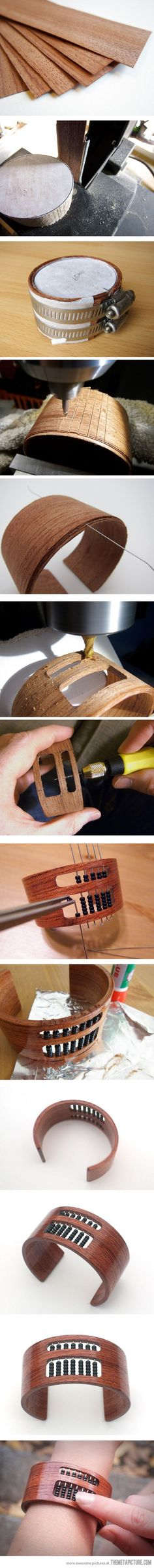 Not hipster enough? Try this--I actually think this is pretty cool.  I would totally love to make something like this!