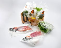 Winnaar NL Packaging Awards 2018 Categorie Food Vers Urban Farmer, Snack Recipes, Snacks, Fresh Rolls, Chips, Packaging, Hot, Ethnic Recipes, Farmers