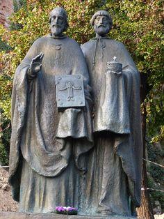 Cyril a Metod, Nitra