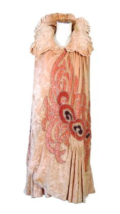 1920s velvet cape, Lisa Ho collection, Mossgreen auctioneers