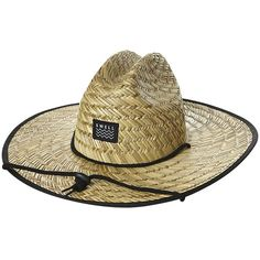 c4583fff71c Swell Straw Hat Natural ( 12) ❤ liked on Polyvore featuring men s fashion