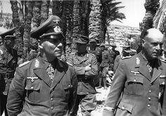 Erwin Rommel and Ludwig Crüwell