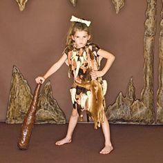 Cave Child Costume -- DIY