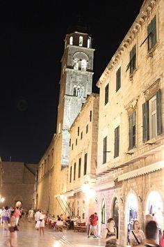 večerní Dubrovnik