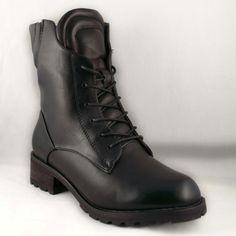 Poze Ghete negre cu toc Otther Dr. Martens, Combat Boots, Shoes, Fashion, Moda, Zapatos, Shoes Outlet, Fashion Styles, Combat Boot