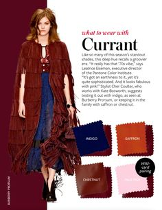 What to wear with CURRANT