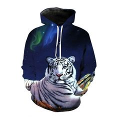 Men's Clothing 2018 Winter Warm Outwear Fashion Clothing Wolf Monkey Tiger Lion Skull Printed Animal Printed Fleece 3d Printed Evident Effect