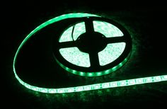 Strip Lighting LED Green SMD5050 IP65 5M Roll 14.4w/m 60 LEDs/m A$32.45 www.ecoindustrialsupplies.com