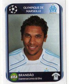 MARSEILLE - Brandao 378 PANINI UEFA Champions League 2010-2011 Football Sticker
