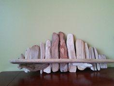 Tablette en bois de plage