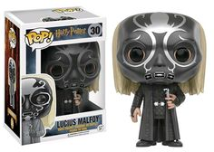 Lucius Malfoy: Let us hope that Mr. Potter will always be around to save the day.  Harry: Don't worry. I will be.   Harry Potter - Lucius as Death Eater US Exclusive Pop! Vinyl Figure  Click here to preorder - - > http://bit.ly/2guGng8