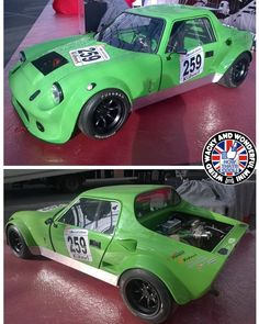 Now that's a Brutal looking GTM Coupe! I'm guessing this lil monster is pretty rapid n a blast to drive. I know I'd love a go in it! Mini Countryman, Mini Clubman, Classic Mini, Classic Cars, Mini S, Kit Cars, Automobile, Garage, Plastic