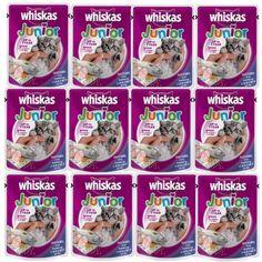 ลดราคาแล้วนะ<SP>Whiskas Kitten Food Mackerel Flavor 85g (12 units) อาหาร ลูกแมว วิสกัส แบบเปียก รสปลาทู 85 กรัม (12 ซอง)++Whiskas Kitten Food Mackerel Flavor 85g (12 units) อาหาร ลูกแมว วิสกัส แบบเปียก รสปลาทู 85 กรัม (12 ซอง) มีสารอาหารครบถ้วนและสมดุลทั้ง 41 ชนิด อร่อยจากเนื้อปลาแท้ๆ เสริมสร้างภูมิต้านทานให้กับลูกแมว ได ...++