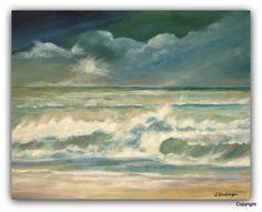 Acryl/Leinwand 40 cm x 50 cm  verkauft Nordsee