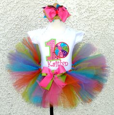 Personalized Sequin Beach Ball Birthday Tutu Outfit http://www.tutusweetshop.com/item_285/Personalized-Sequin-Beach-Ball-Birthday-Tutu-Outfit.htm