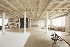 Gorgeous workspace. Needs a swing and some roller skates...