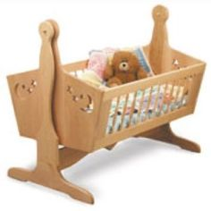 Wooden Baby Cradle Kits