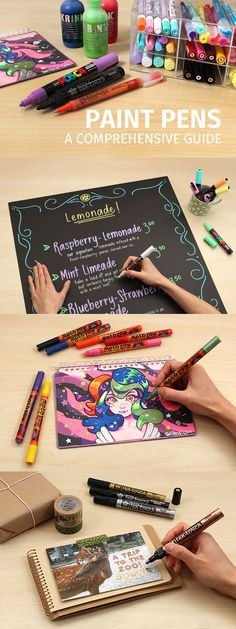 Read on to learn more about how to choose paint pens and which ones are best for specific applications.