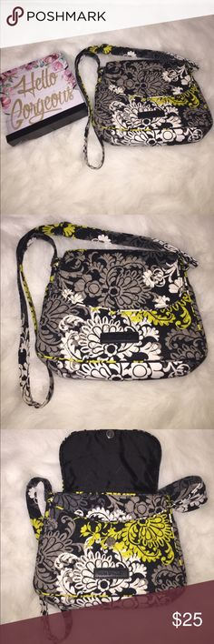 Vera Bradley crossbody bag Excellent condition. Used maybe a handful of times. No need for it. Just sitting in my closet. Vera Bradley Bags Crossbody Bags