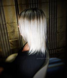 #blondehair #icehair #silverhair