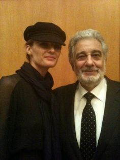 "#StanaKatic & Placido Domingo at L.A. Opera's ""Romeo and Juliet"" opening night (2011)"