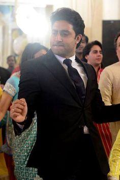 Abhishek Bachchan is dancing away to glory. #Bollywood #Fashion #Style #Wedding
