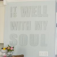 Fancy walls on the cheap: 36 easy, beautiful DIY art ideas - * View Along the Way *