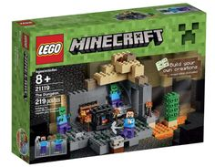 Amazon.com:+LEGO+Minecraft+21119+the+Dungeon+Building+Kit+Only+$13.99+{reg.+$19.99}