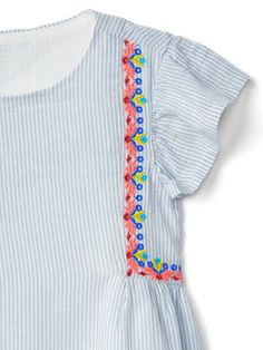 Stripe flutter top | Gap