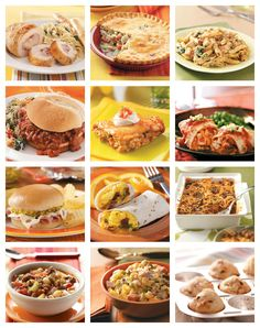 Make Ahead Freezer Meals from Taste of Home :: Busy weeknights call for make-ahead convenience. Find freezer recipes, make-ahead recipes, and freezer meals in this slideshow featuring casseroles, potpies, lasagna and more meals to freeze. :: pinterest.com/...
